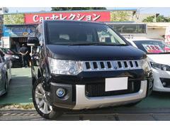 沖縄の中古車 三菱 デリカD:5 車両価格 104万円 リ済込 平成19年 12.3万K ブラック