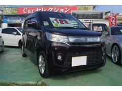 沖縄の中古車 スズキ ワゴンRスティングレー 車両価格 105万円 リ済込 平成28年 1.9万K パープル