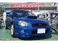 沖縄の中古車 スバル インプレッサ 車両価格 115万円 リ済込 平成17年 11.7万K ブルー