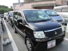 沖縄の中古車 三菱 eKワゴン 車両価格 23万円 リ済込 平成17年 11.9万K ブラック