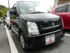 沖縄の中古車 スズキ ワゴンR 車両価格 25万円 リ済込 平成17年 7.5万K ブラック
