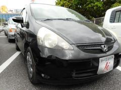 沖縄の中古車 ホンダ フィット 車両価格 28万円 リ済込 平成18年 9.9万K ブラック