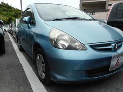 沖縄の中古車 ホンダ フィット 車両価格 25万円 リ済込 平成18年 6.4万K ブルー