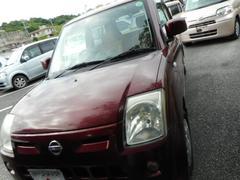 沖縄の中古車 日産 ピノ 車両価格 29万円 リ済込 平成20年 9.7万K ワイン
