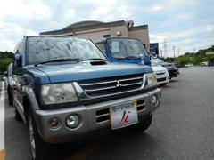 沖縄の中古車 三菱 パジェロミニ 車両価格 29万円 リ済込 平成16年 8.9万K ブルー