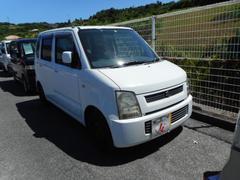 沖縄の中古車 スズキ ワゴンR 車両価格 25万円 リ済込 平成17年 5.0万K ホワイト