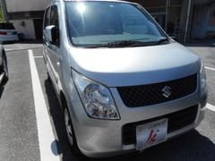 沖縄の中古車 スズキ ワゴンR 車両価格 25万円 リ済込 平成20年 10.9万K シルバー
