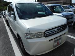沖縄の中古車 ホンダ モビリオスパイク 車両価格 19万円 リ済込 平成17年 12.3万K ホワイト