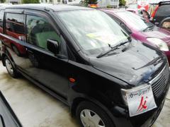 沖縄の中古車 三菱 eKワゴン 車両価格 21万円 リ済込 平成17年 11.9万K ブラック