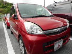 沖縄の中古車 スバル ステラ 車両価格 25万円 リ済込 平成18年 5.9万K レッド