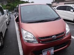 沖縄の中古車 ダイハツ ムーヴ 車両価格 25万円 リ済込 平成19年 9.3万K ピンク