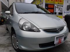 沖縄の中古車 ホンダ フィット 車両価格 26万円 リ済込 平成19年 7.8万K グリーン