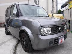 沖縄の中古車 日産 キューブ 車両価格 30万円 リ済込 平成19年 12.4万K ガンM