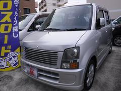 沖縄の中古車 スズキ ワゴンR 車両価格 25万円 リ済込 平成18年 6.5万K シルバー