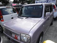 沖縄の中古車 スズキ アルトラパン 車両価格 23万円 リ済込 平成14年 10.6万K ピンク