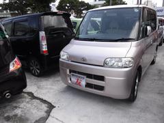 沖縄の中古車 ダイハツ タント 車両価格 29万円 リ済込 平成17年 9.4万K ピンク