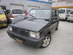 沖縄の中古車 フィアット フィアット パンダ 車両価格 29.8万円 リ済別 1997年 13.0万K ブラック