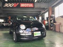 沖縄の中古車 フィアット フィアット 500 車両価格 109万円 リ済込 2010年 2.4万K クロスオーバーブラック