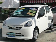 沖縄の中古車 ダイハツ ミライース 車両価格 31万円 リ済込 平成24年 7.4万K ホワイト