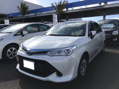 沖縄の中古車 トヨタ カローラアクシオ 車両価格 139万円 リ済別 平成28年 1.9万K パールホワイト