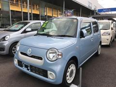 沖縄の中古車 ダイハツ ミラココア 車両価格 118万円 リ済別 平成27年 0.5万K ライトブルー
