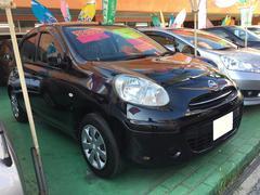 沖縄の中古車 日産 マーチ 車両価格 69万円 リ済込 平成24年 6.3万K ブラック