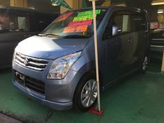 沖縄の中古車 スズキ ワゴンR 車両価格 74万円 リ済込 平成22年 5.5万K ライトブルー