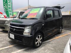 沖縄の中古車 スズキ ワゴンR 車両価格 54万円 リ済込 平成20年 6.8万K ブラック
