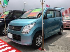 沖縄の中古車 スズキ ワゴンR 車両価格 74万円 リ済込 平成24年 1.9万K ライトブルー