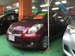 沖縄の中古車 トヨタ ヴィッツ 車両価格 66万円 リ済込 平成21年 4.8万K ブラウン