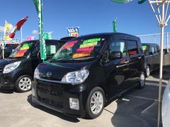 沖縄の中古車 ダイハツ タントエグゼ 車両価格 74万円 リ済込 平成22年 6.4万K ブラック
