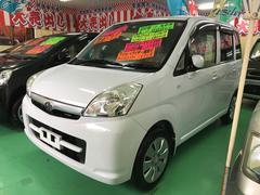 沖縄の中古車 スバル ステラ 車両価格 54万円 リ済込 平成22年 7.7万K ホワイト