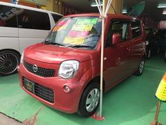 沖縄の中古車 日産 モコ 車両価格 74万円 リ済込 平成23年 1.8万K ピンク