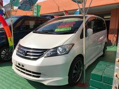 沖縄の中古車 ホンダ フリード 車両価格 99万円 リ済込 平成23年 7.0万K パールホワイト
