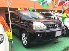 沖縄の中古車 日産 エクストレイル 車両価格 109万円 リ済込 平成21年 8.6万K ブラック