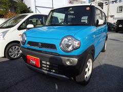 沖縄の中古車 スズキ ハスラー 車両価格 118万円 リ済別 平成29年 1.0万K ブルーII