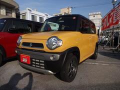 沖縄の中古車 スズキ ハスラー 車両価格 118万円 リ済別 平成29年 0.7万K イエローII