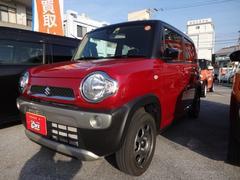 沖縄の中古車 スズキ ハスラー 車両価格 118万円 リ済別 平成29年 0.7万K レッドII