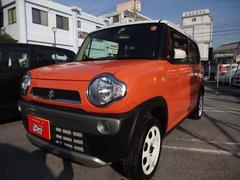 沖縄の中古車 スズキ ハスラー 車両価格 118万円 リ済別 平成29年 0.5万K ツートン