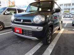 沖縄の中古車 スズキ ハスラー 車両価格 108万円 リ済別 平成29年 0.8万K グリーンM