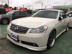 沖縄の中古車 日産 フーガ 車両価格 68万円 リ済込 平成18年 9.6万K パール