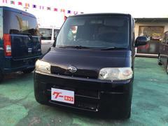 沖縄の中古車 ダイハツ タント 車両価格 33万円 リ済込 平成19年 9.8万K ブラック