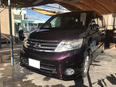 沖縄の中古車 日産 セレナ 車両価格 78万円 リ済込 平成21年 9.2万K ディープカシスP