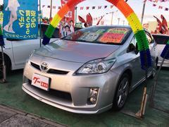 沖縄の中古車 トヨタ プリウス 車両価格 88万円 リ済込 平成22年 9.3万K シルバー