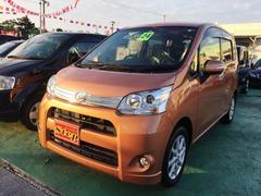 沖縄の中古車 ダイハツ ムーヴ 車両価格 69万円 リ済込 平成24年 2.1万K オレンジ