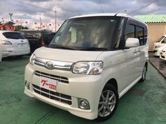 沖縄の中古車 ダイハツ タント 車両価格 93万円 リ済込 平成25年 5.2万K パールホワイト