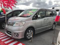 沖縄の中古車 日産 セレナ 車両価格 65万円 リ済込 平成19年 8.3万K シルバー