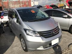 沖縄の中古車 ホンダ フリード 車両価格 49万円 リ済込 平成21年 8.5万K シルバー