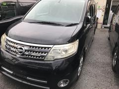 沖縄の中古車 日産 セレナ 車両価格 79万円 リ済込 平成20年 9.6万K ブラック
