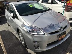 沖縄の中古車 トヨタ プリウス 車両価格 98万円 リ済込 平成22年 5.2万K シルバーM